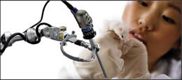 VITOM HD is an exoscope using extracorporeal magnification and full 1920x1080 imaging technology